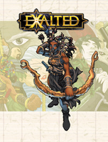 Cover of Exalted. (White Wolf Publishing)