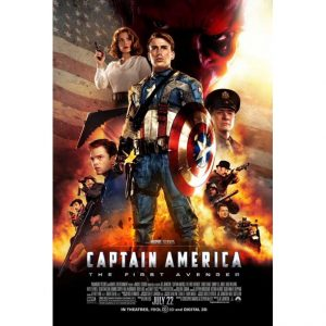 Marvel Studio's Captain America: The First Avenger movie poster