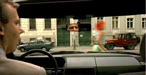 Screenshot of Run Lola Run, timestamp 16:28.