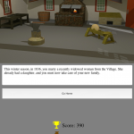 view of the blacksmith shop in the Fort Vancouverville Game