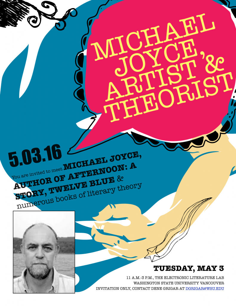 michael joyce invitation