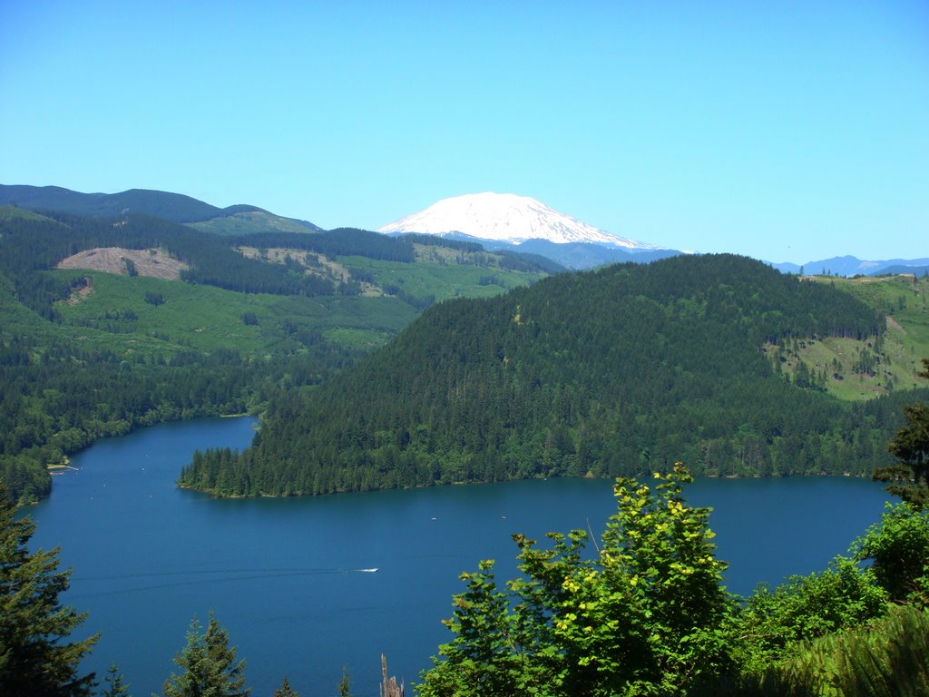 Five hot fishing holes of the pacific northwest for Lake merwin fishing