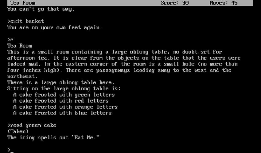 The Electronic Literature Catalog - Zork II: The Wizard of