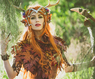 Keyleth The mantle of the tempest im beyond happy with how my cape turned out. keyleth